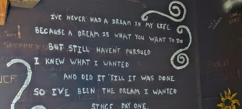 If you dream it, liveit.