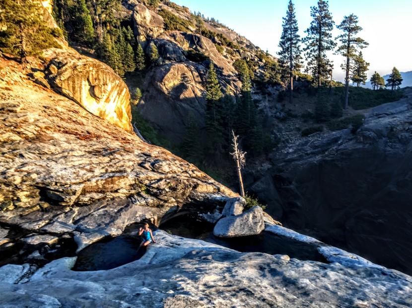 Yosemite NP: ChilnualnaFalls
