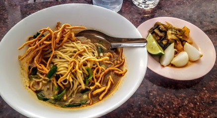 Traditional Northern Thai Noodle Dish