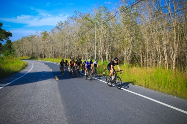 Sweet roads and good company, Photo courtesy of Thanyapura Health & Sports Resort.