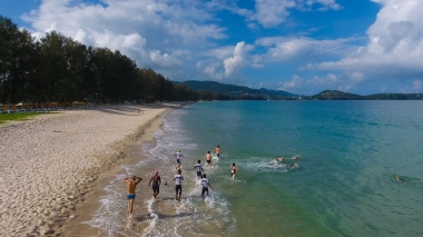 Beach photo courtesy of Thanyapura Health & Sports Resort.