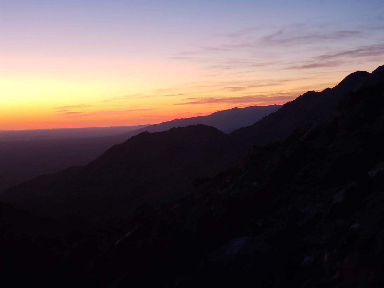Anza Borrego sunrise A