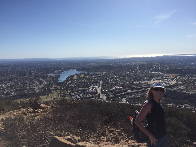 "Cowles ""Mountain"" Hike & Lake Murray Stroll"