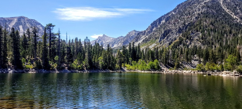 Sherwin Creek Trail: Awesome Hike to 2 Spectacular Lakes. Mammoth Lakes,CA.