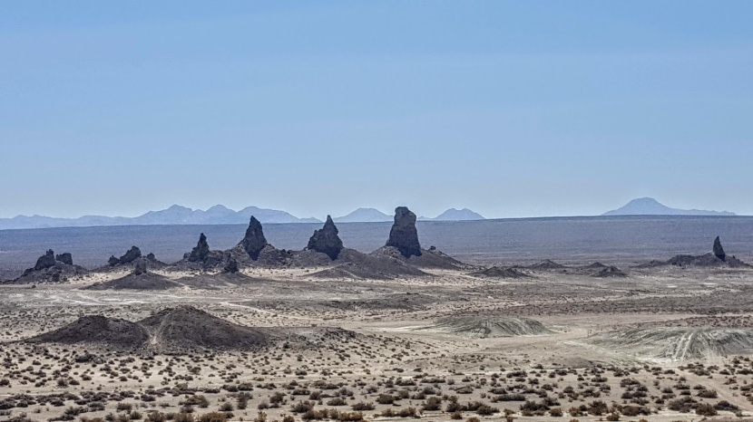 Exploring Trona Pinnacles, a Natural National Landmark Near Ridgecrest, CA