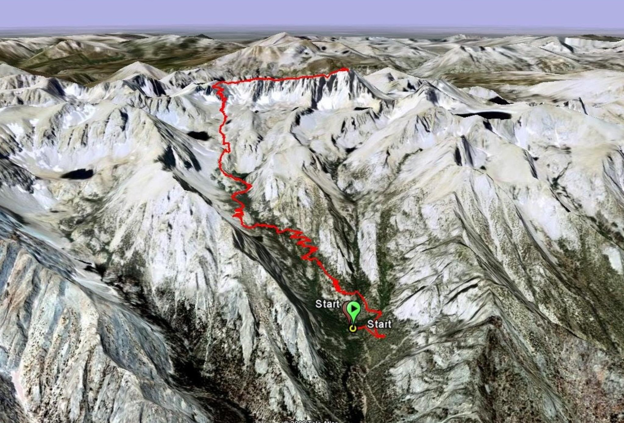Whitney Route