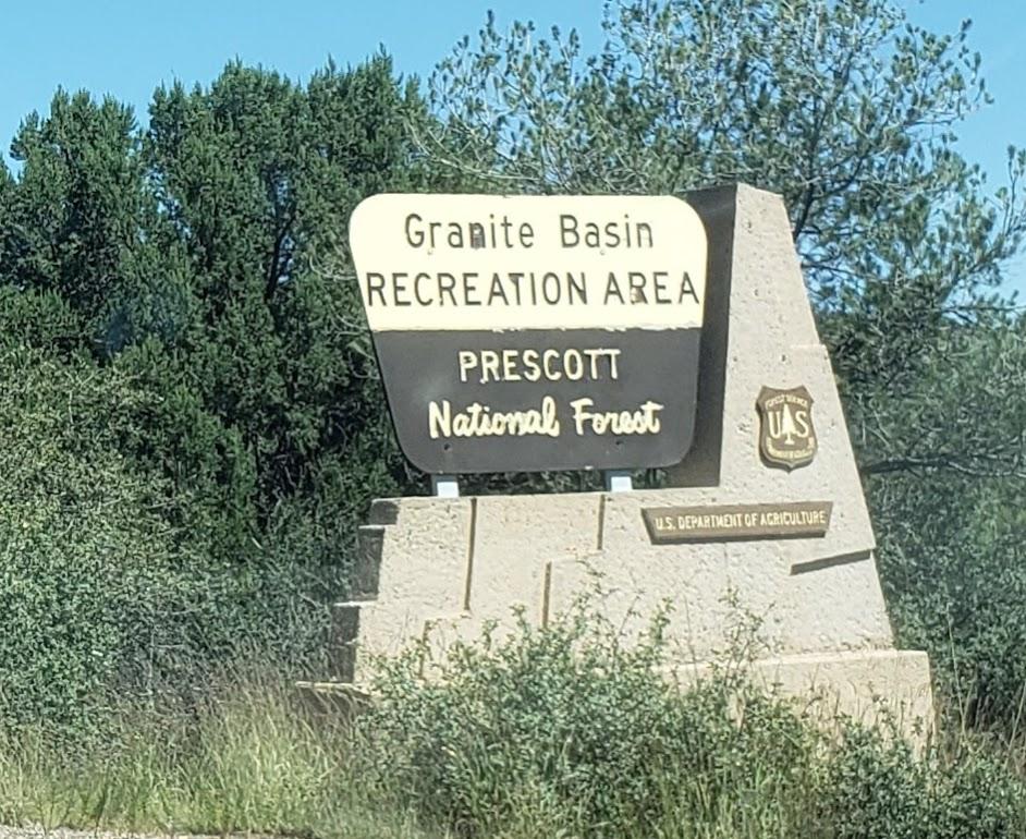 Granite Basin Sign
