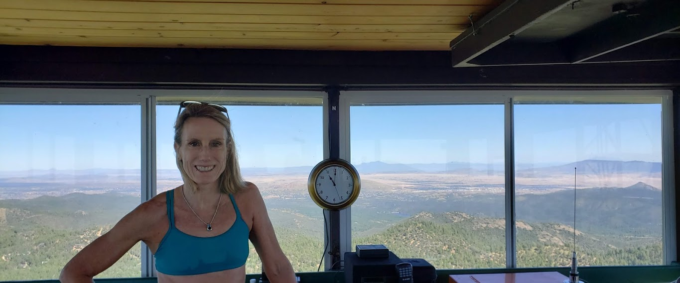 L in Spruce MTN outlook tower
