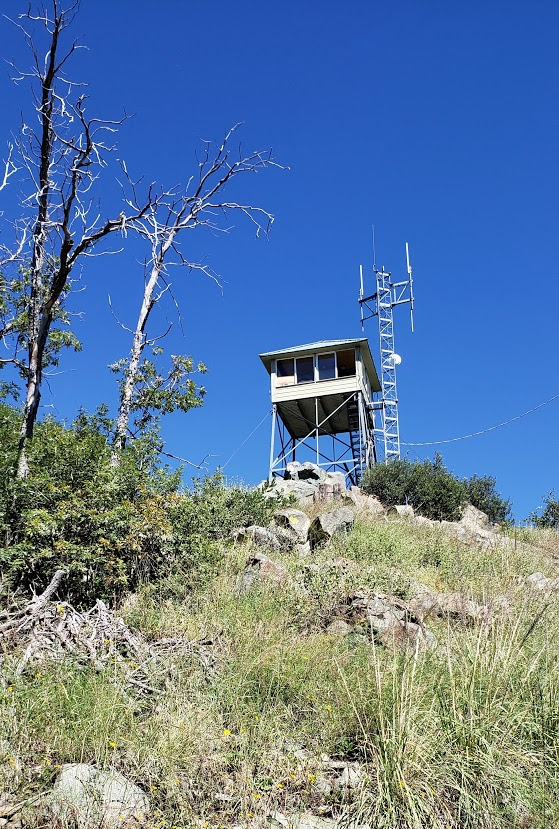 Spruce mt lookout tower