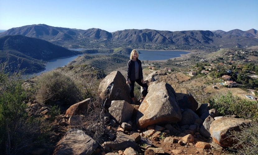 Bernardo Summit Rewards: 360 degree views of Lake Hodges and beyond