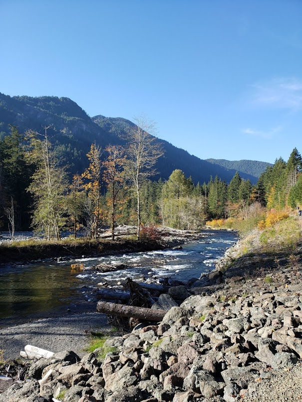 Elwah River vertical