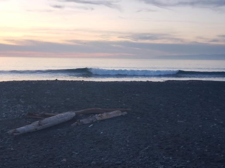little wave elwah beach