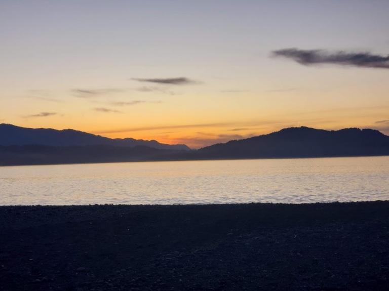 sunset 3 elwah beach