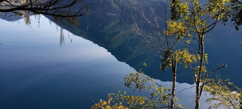 "Spruce Railroad Trail, Lake Crescent, A Scenic ""Must Do"" By Foot or 2 Wheels, Near Port Angeles, WA"
