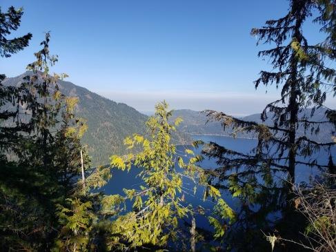first views Lake C Storm King