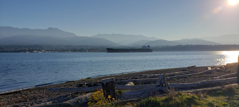 Photo Post: Ediz Hook and Port Angeles, WA