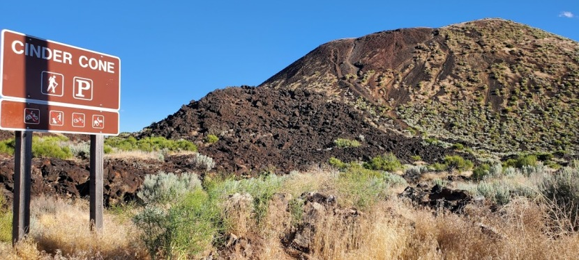 The Cinder Cone, Diamond Valley, UT: Short hike that's long on views
