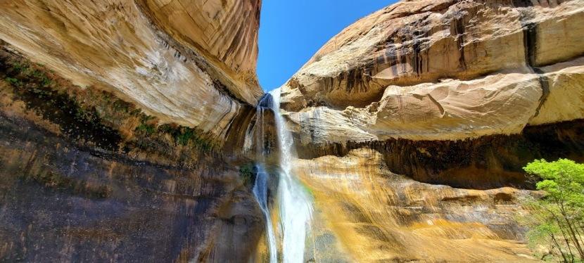 Lovely Lower Calf Falls, Grand Staircase Escalante, Bolder,UT